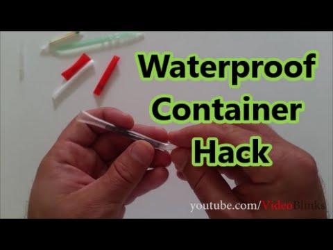 DIY Waterproof Container