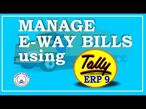 Generate E-Way Bill in GST for Tally ERP 9 Invoices