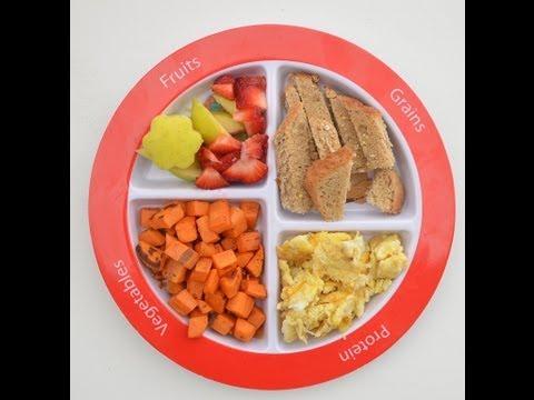 KIDS SHOULD EAT BREAKFAST: Eat a rainbow full of colors!!