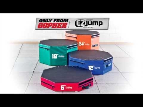 UltraFit™ EZJump™ Foam Plyo Boxes | Gopher Sport