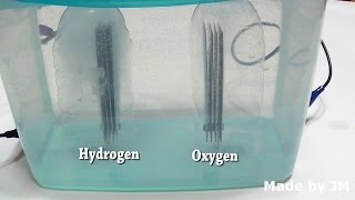 Water Electrolysis Kit(hydrogen and oxygen separated)