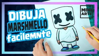 Dibujos De Marshmello En Fortnite
