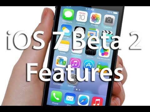 iOS 7 Beta 2 Features & Hands on