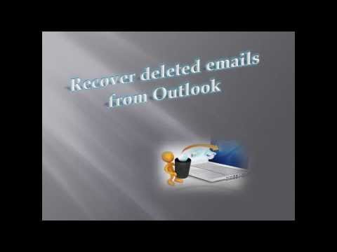 How to Recover Deleted Emails from Outlook