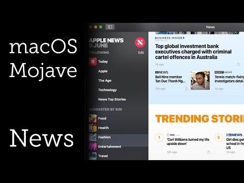 News for macOS Mojave