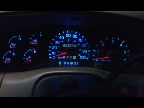 How-to Replace an Instrument Cluster / Speedometer 1997 Ford F250, F150