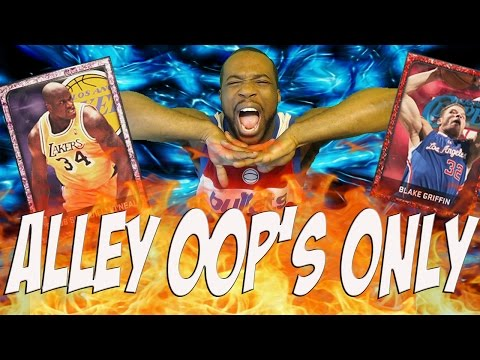 ALLEY-OOP'S ONLY CHALLENGE! NBA 2k15 MyTeam Gameplay Pink Diamond Shaq SAVES ME!