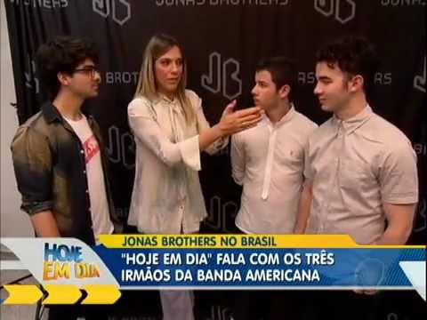 Jonas Brothers - Interview with Hoje en Dia (03/11/2013)
