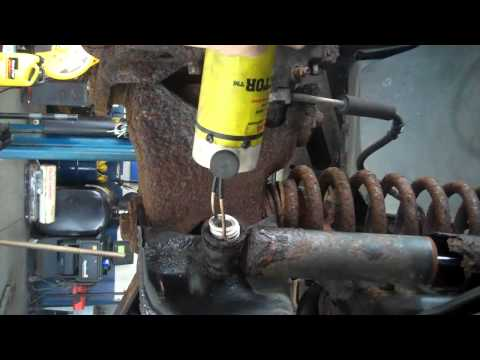 Removing Rusty Nuts and Bolts