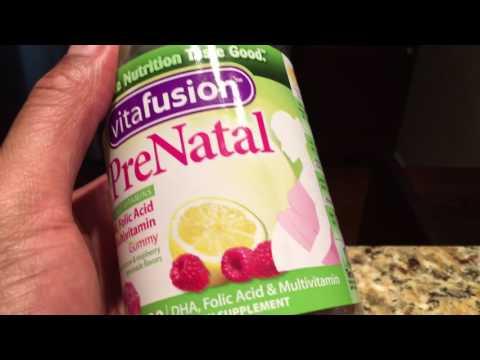 Prenatal Gummy vitamin review