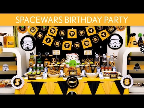Spacewars Birthday Party Ideas // Spacewars - B127