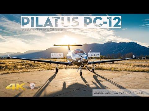 Pilatus PC-12 The Ultimate Single Engine Flight Tour!