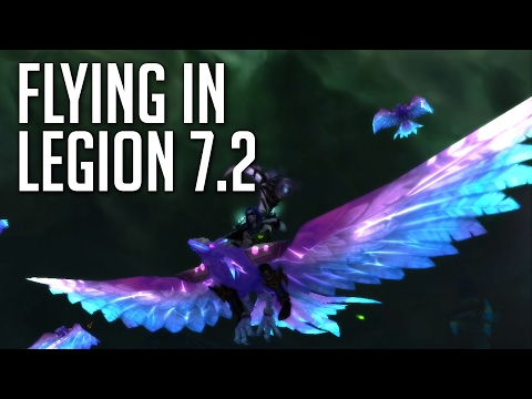 How to get Flying in Legion 🕊️