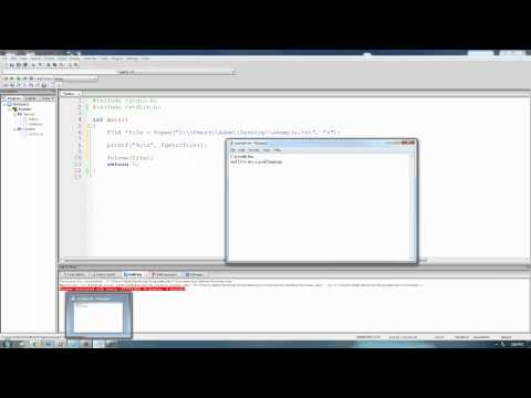 C Programming Tutorial 68, Reading From Files pt.1