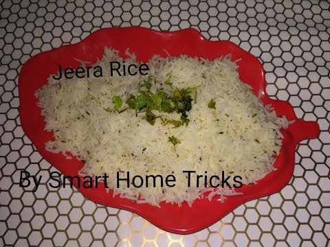 How to make Jeera Rice - Cumin seeds Rice - Jeere wale chawla in Hindi at Home