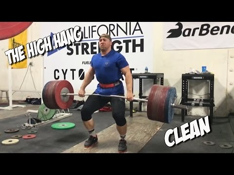 Friday Technique talk: The High Hang Clean