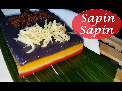 Sapin Sapin | How to make Sapin Sapin | kakanin recipe
