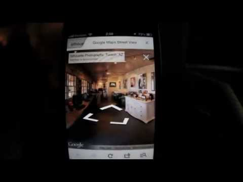 Google Street View meet the iPhone