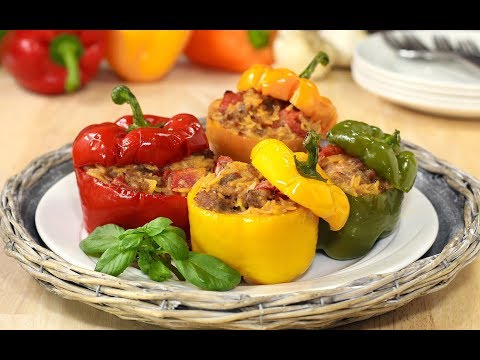 Cheesy Italian Stuffed Peppers