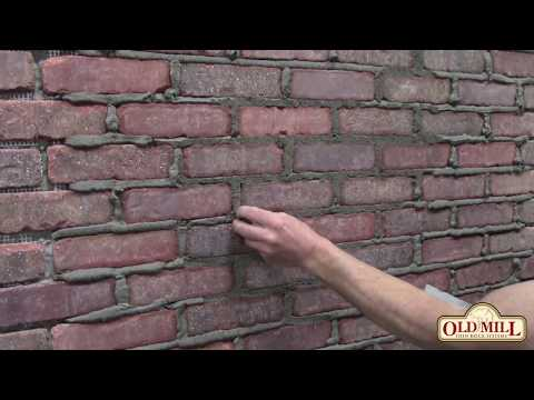 How to Grout a Flush Mortar Joint