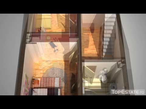 Vanzare Vila Parter+1 etaj, 41 m² teren, zona IMGB, Popesti Leordeni. Vanzare 75.000 euro