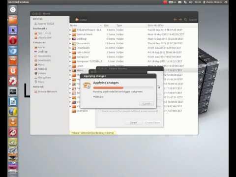 Sharing folder in Ubuntu