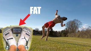 Flips After Gaining 10lbs! D: