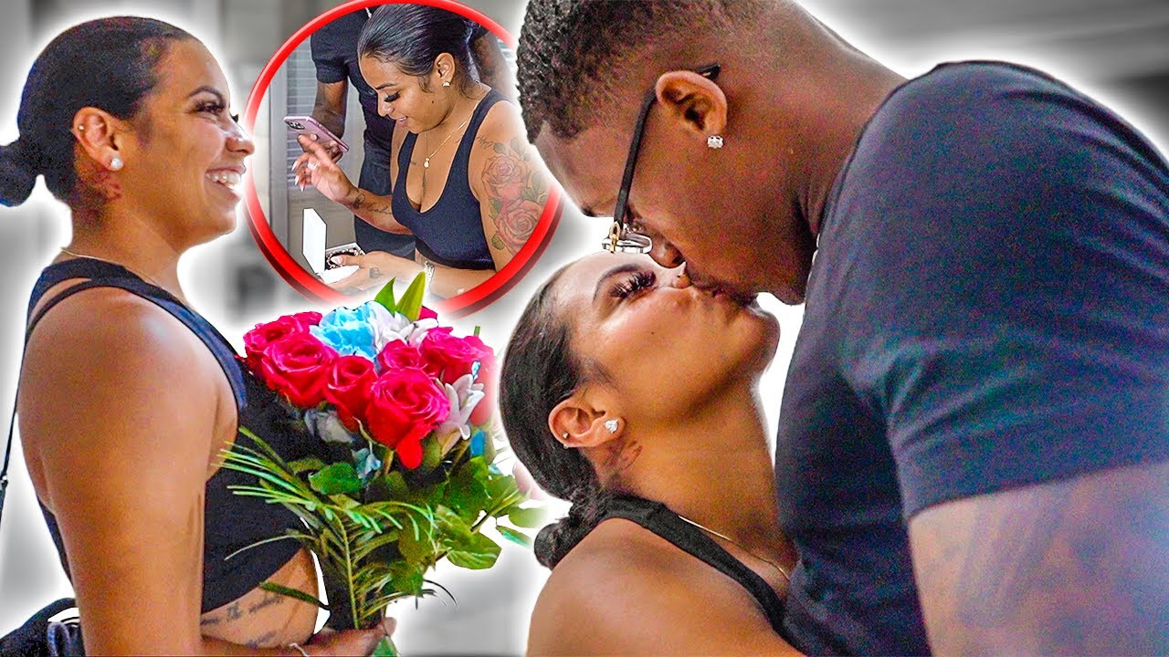 SURPRISING MY WIFE AFTER SHE LEFT US..❤️