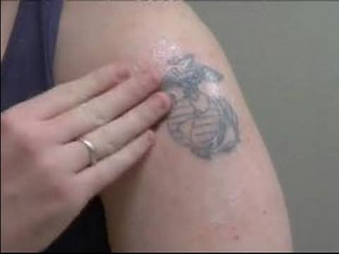 How to Care for a New Tattoo : New Tattoo Care & Moisturizing