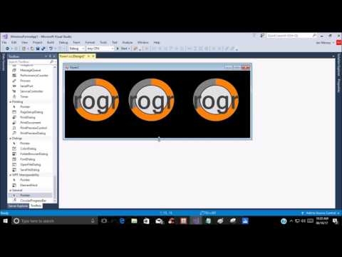 How to make a cpu monitor with circular progress bar in C#