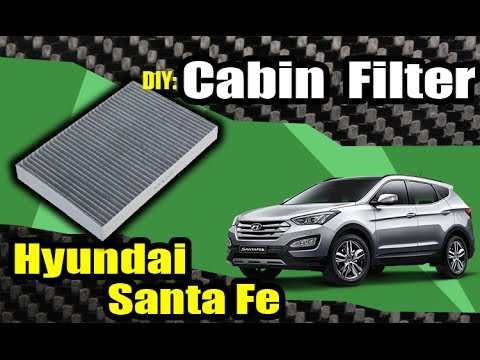 Replace Hyundai Santa Fe CABIN AIR FILTER