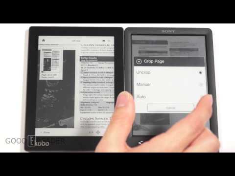 Kobo Aura vs Sony T3 PDF Experience