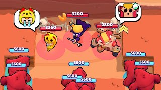 1001 BEARS 🐻 Nita is Unmatched! Brawl Stars Funny Moments Wins & Fails ep.304
