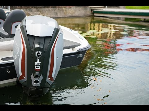 Evinrude G2 150hp launch