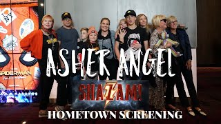 Asher Angel - Hometown Shazam! Screening