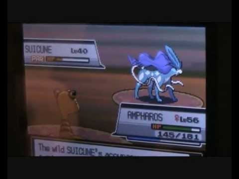 Pokemon HeartGold/SoulSilver - Catching Suicune