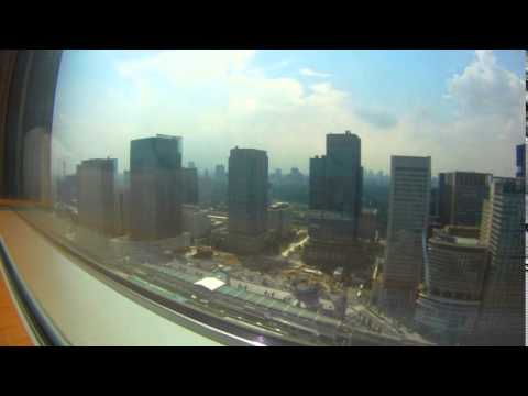 Japan Day 1 - Narita, Shangri-la, Shibuya