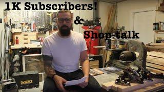 1k subscribers & shop talk! // Vlog