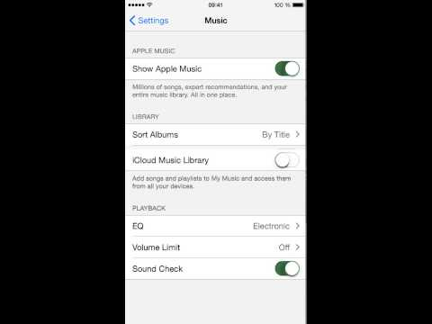 iCloud music library not working!