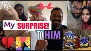 My ❤️❤️Surprise to him!! Valentines day Special 💑💑|| #latepost #kalyaniboppa