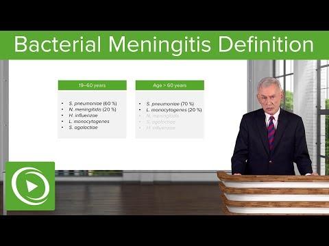 Bacterial Meningitis: Definition & Acute Meningitis– Infectious Diseases | Lecturio