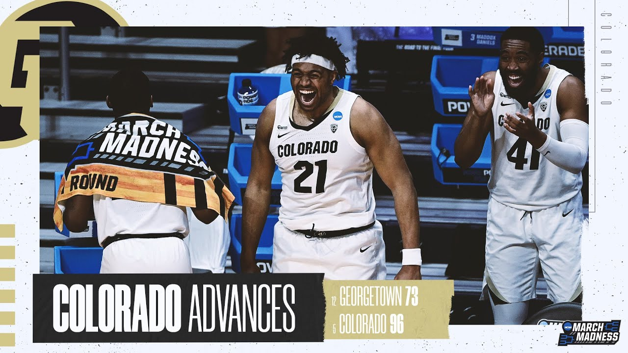 Colorado vs. Georgetown - First Round NCAA tournament extended highlights