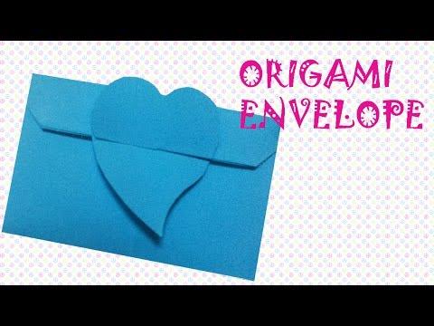 Origami Easy - Origami Envelope Tutorial