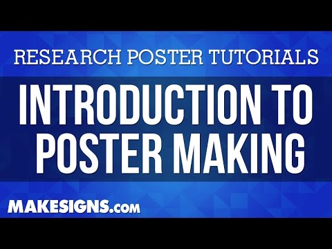 Introduction - Scientific Poster Tutorials for Microsoft Powerpoint - MakeSigns.com