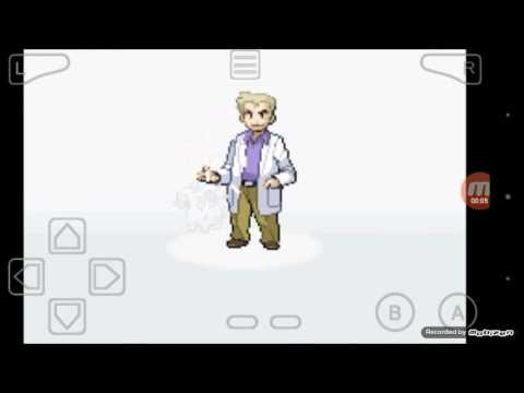 Pokemon Fire Red | Episode 1 , Getting my first Pokemon