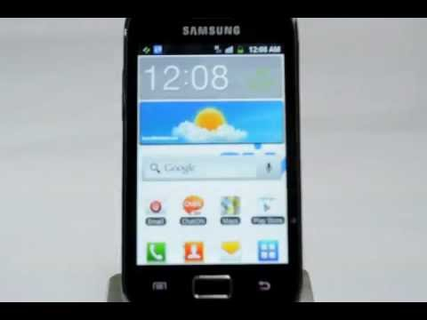Samsung Galaxy Ace: Turn off / on data services