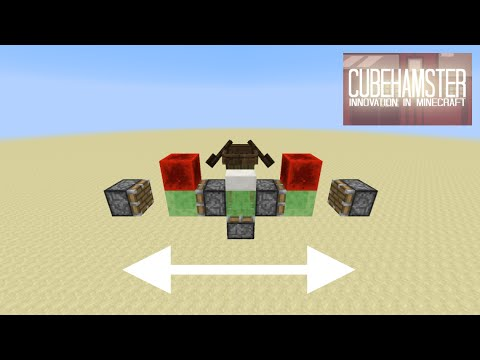 Minecraft: Simple Two Way Flying Machine for 1.9+