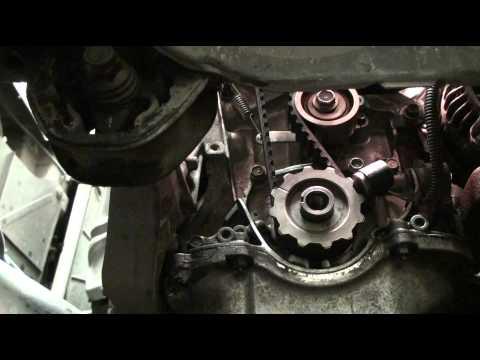 DIY EK Series Honda Civic Acura EL Timing Belt and Water Pump Replacement + Coolant Replacement