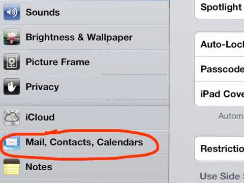 How to Enable gmail calendars sync on iPad iOS 6.  WWW.I-L.CO