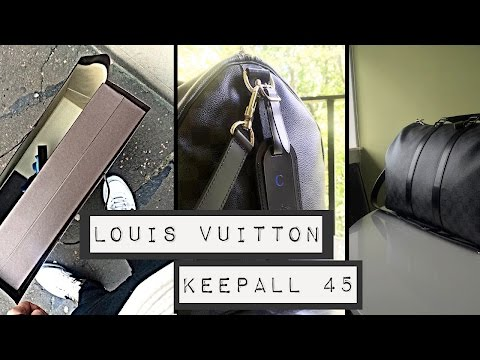 Louis Vuitton // Keepall 45 // Damier Graphite
